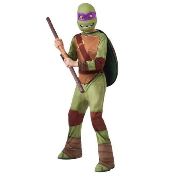 BRAND NEW - Kids Ninja Turtles Donatello Costume